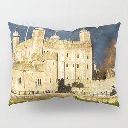 architecture-castle-travel-building Pillow Sham