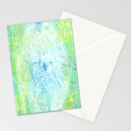 invisible kiss Stationery Cards