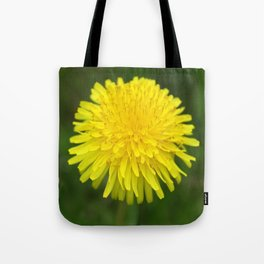 Yellow Dandilion Tote Bag