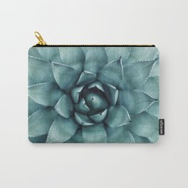 Aloe Green Agave Carry-All Pouch