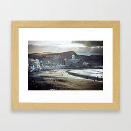 Las Palmas Framed Art Print