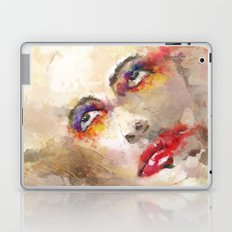 sad crown Laptop & iPad Skin
