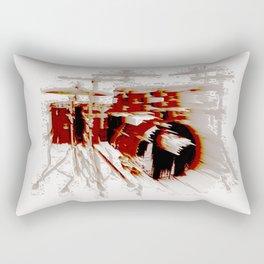Fast Drumming Rectangular Pillow