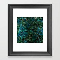 BOUDHA Framed Art Print
