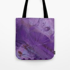 Purple Fan  Tote Bag