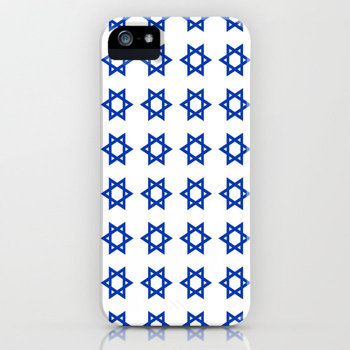 Star of David iPhone Case
