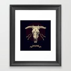 Beelzebub ♆ Framed Art Print