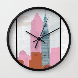 Dreamsicle Wall Clock
