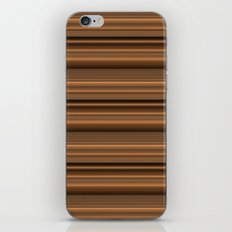 Bronze Tone Stripe iPhone & iPod Skin