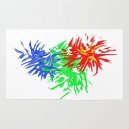Splashing Colours Rug