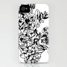 Cabbage Roses iPhone (4, 4s) Slim Case