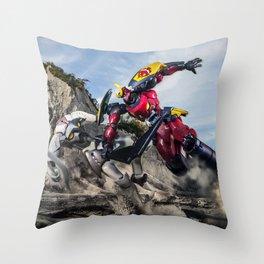 gurren battle Throw Pillow