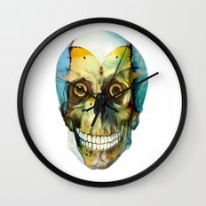 SKULL#02 Wall Clock