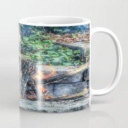 Dancing Fire Coffee Mug