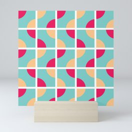Geo Modern - Geometric Pattern Mini Art Print