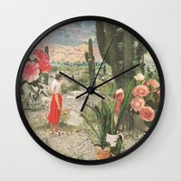 motivational Wall Clocks featuring Decor by Sarah Eisenlohr