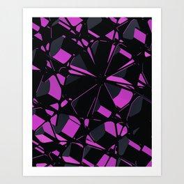 3D Futuristic BG III Art Print