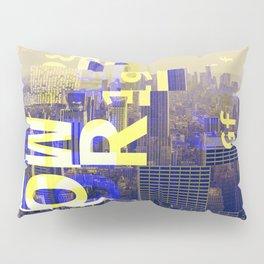 GLITCH CITY #00 NEW YORK Pillow Sham