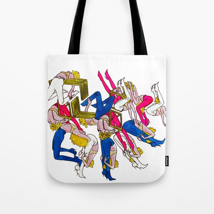 rock rests. Tote Bag