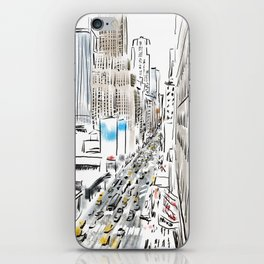 Penn Station / Madison Square Garden / 7thAve iPhone Skin