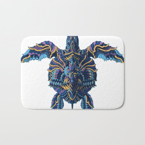 Sea Turtle (Color Version) Bath Mat