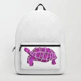Sulcata Tortoise Silhouette (Valentines) Backpack
