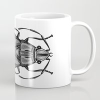 bug Mugs featuring Bug by pereverzeva