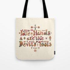 Devil's Tools Tote Bag
