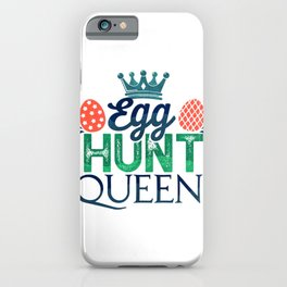 Eater Egg Hunt Easter Christian Holiday iPhone Case