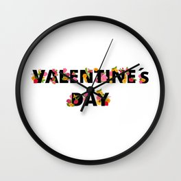 National Valentines Day Wall Clock