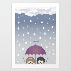 Oh, rainy day! Art Print