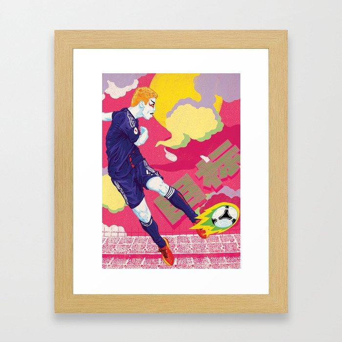 Balls of Fire Framed Art Print