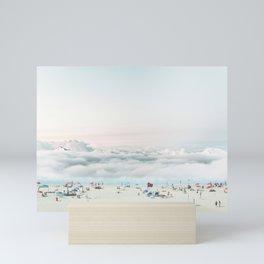 BEACH DAY Mini Art Print