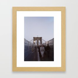 Brooklyn Souls Framed Art Print