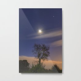 """Talking to the Moon...."" Dream nights Metal Print"