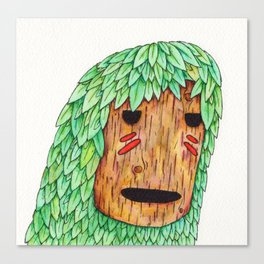 Wood Spirit Canvas Print