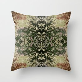 Winter Colors Collage Throw Pillow
