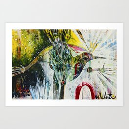 Manifest Magic Art Print