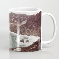 league Mugs featuring Slieve League in winter by Marie Carr