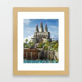Fantasy Castle2 Framed Art Print