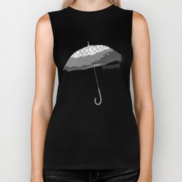 The Winter Umbrella, Winter Things Biker Tank
