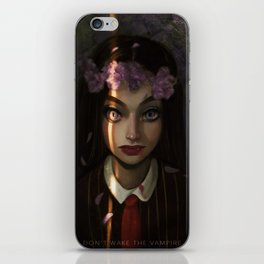 Don't Wake Up the Vampire iPhone Skin