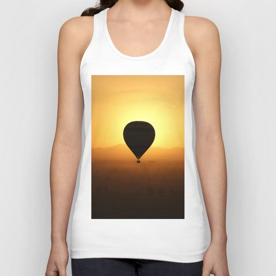 Balloon Over Valley of the Kings Unisex Tank Top