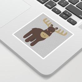 Edward the Moose Sticker