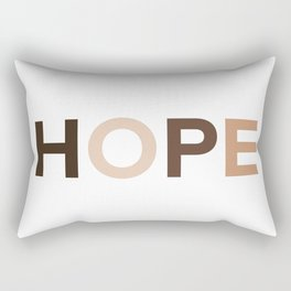 Hope for Togetherness  Rectangular Pillow