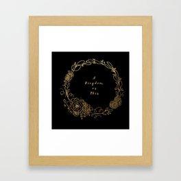 Captive Prince Framed Art Print