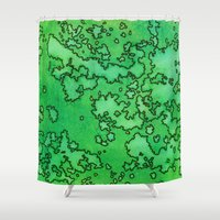 ireland Shower Curtains featuring Ireland by Andrea Gingerich