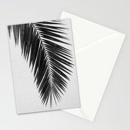 Palm Leaf Black & White I Stationery Cards