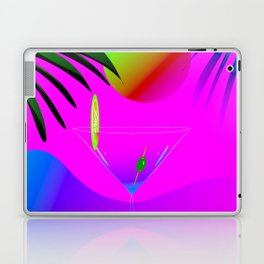 Colorful ,exotic,tropical des,sunset,cocktail,palm trees Laptop & iPad Skin