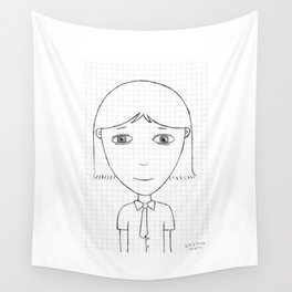 My imaginary friend_005 Wall Tapestry